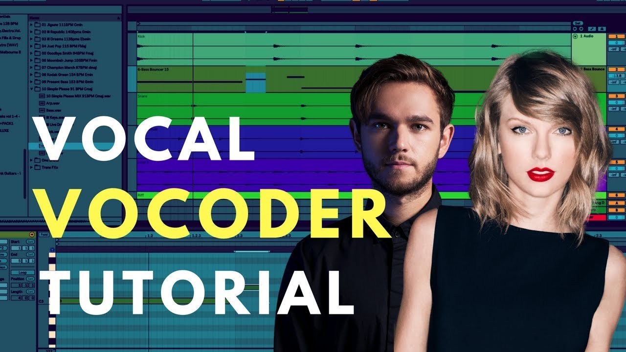 Create Vocoder Vocals